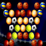 Bubble Shooter Golden Football