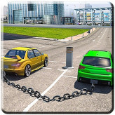 Chained Cars Impossible Tracks Game
